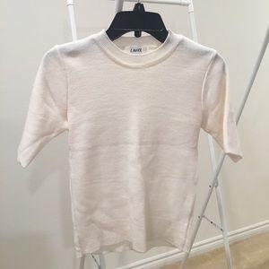 LIUNICK Short Sleeve Sweater